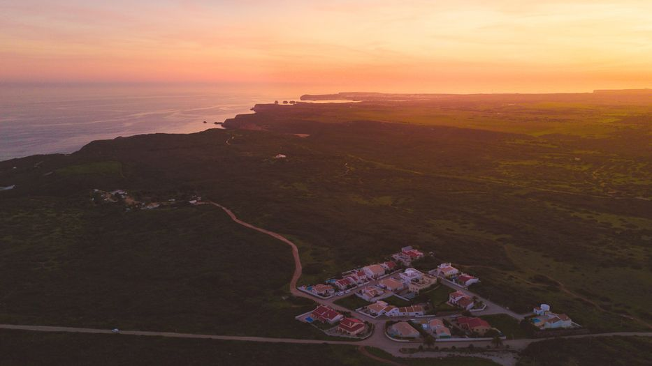 Surf Lodge Portugal from the air!